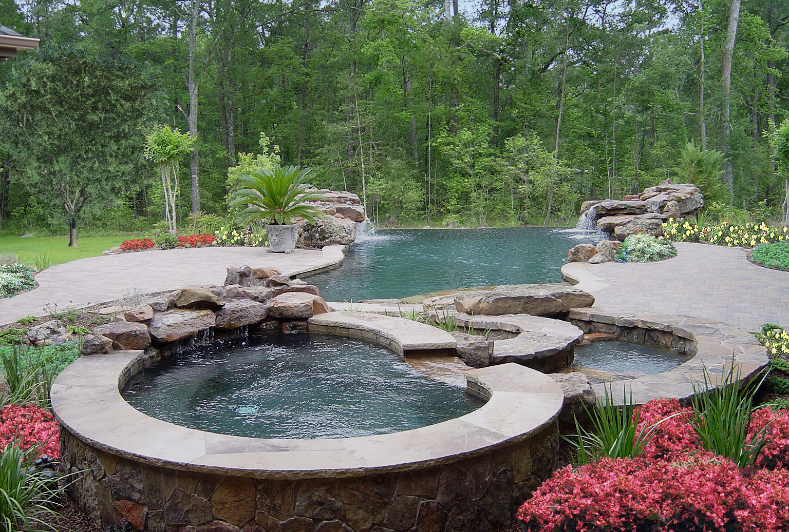 Custom pool concepts houston swimming pool builder for Pool design concepts