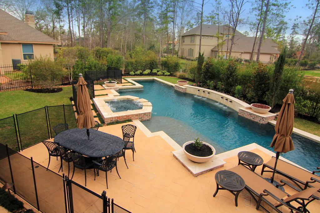 Custom pool concepts houston swimming pool builder for Pool design course